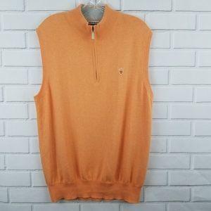 Peter Millar Luxury Blend 1/4 Zip Sweater Vest
